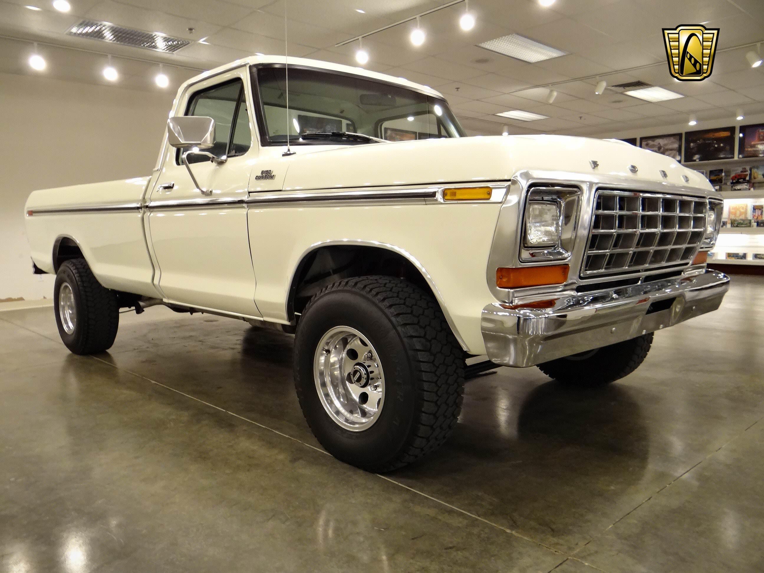 1979 Ford F150 4x4 pickup 22 wallpaper background 2592x1944