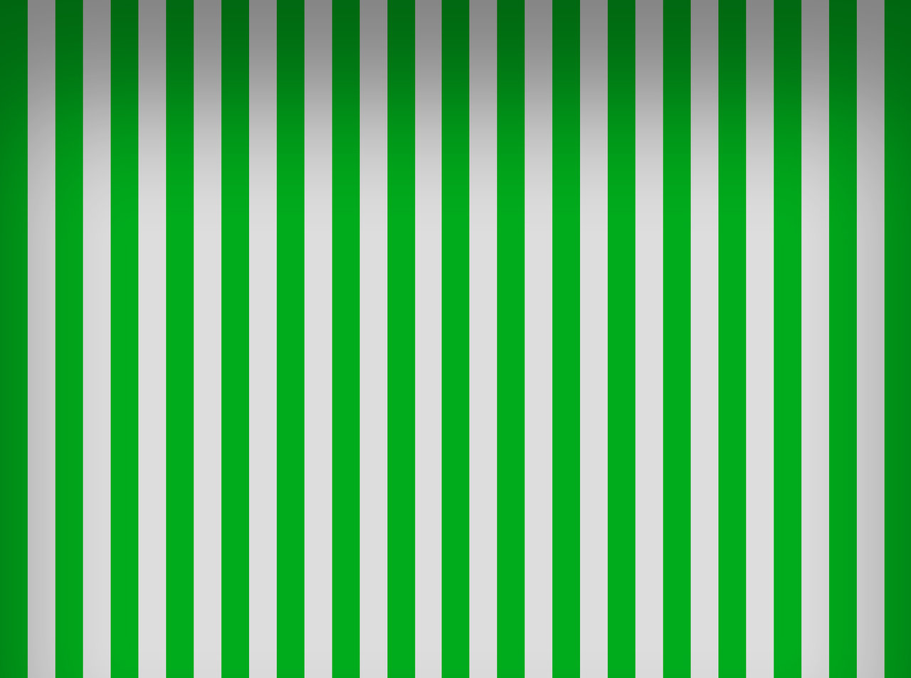 and green stripes