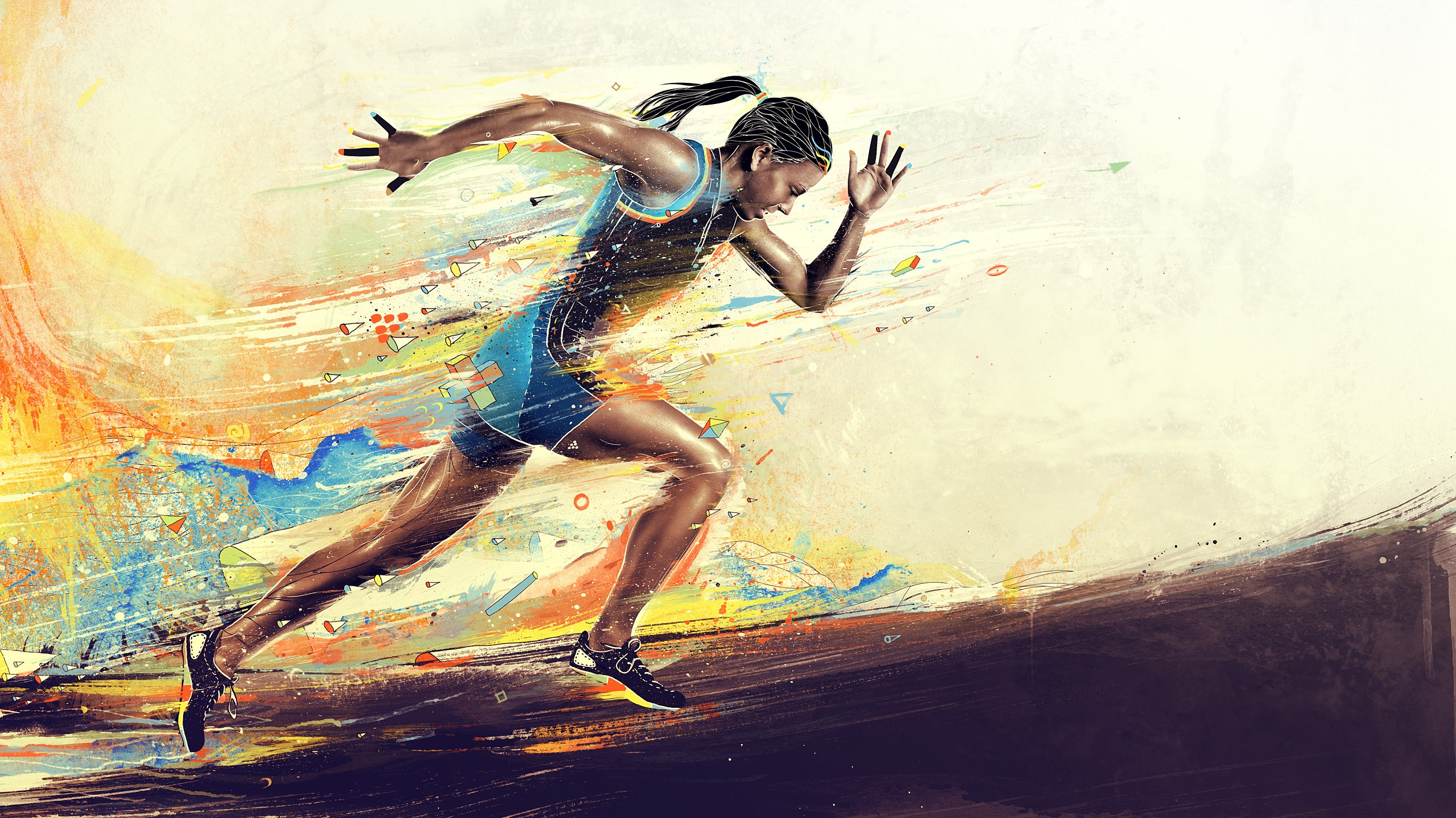 Distance Running Wallpapers