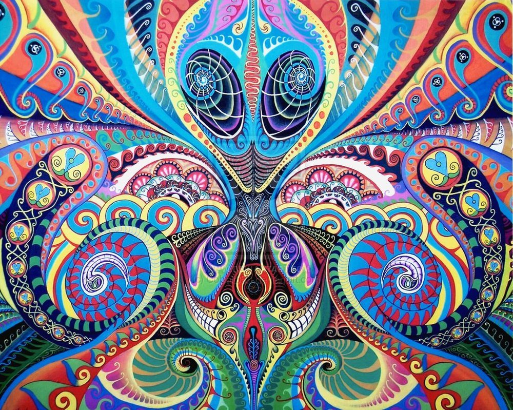 Psychedelic Wallpaper 1000x799