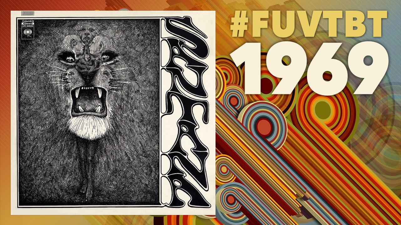 Santana Throwback Thursday 1969 WFUV 1280x720