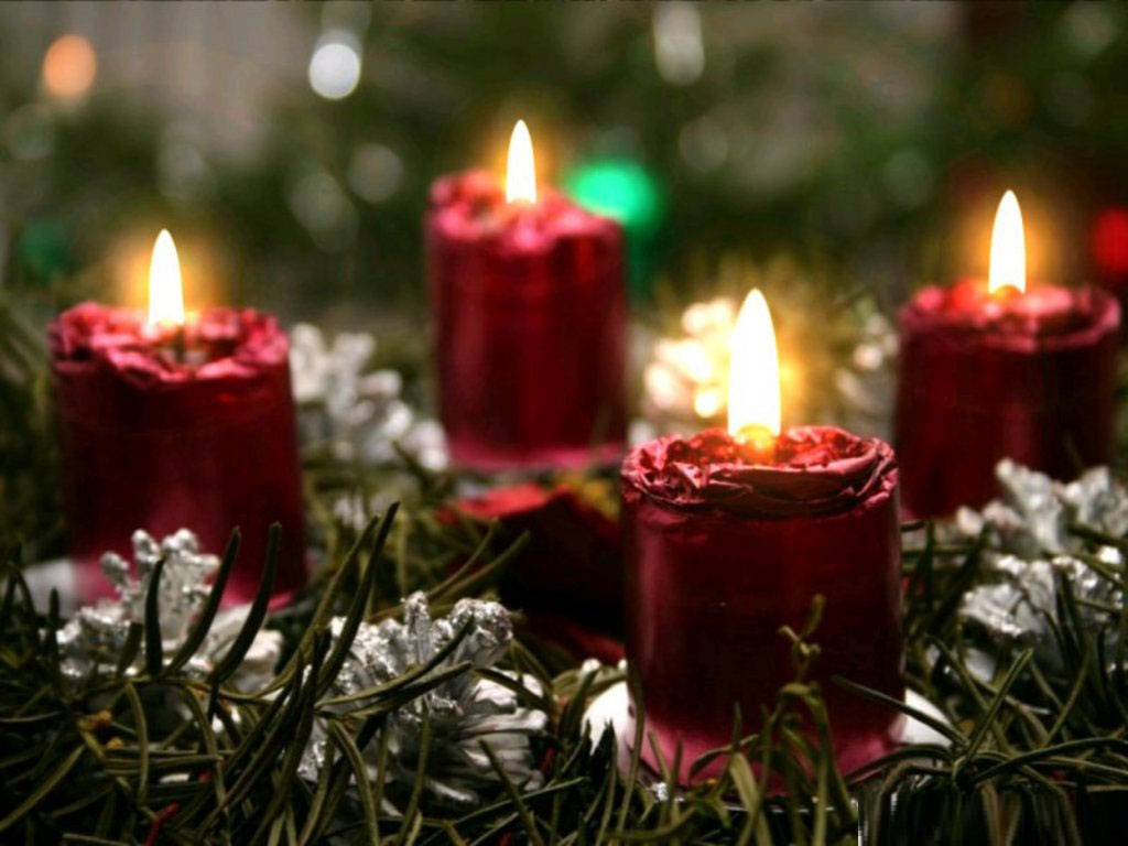 Christmas Candles Wallpapers Christmas Candles Desktop 1024x768