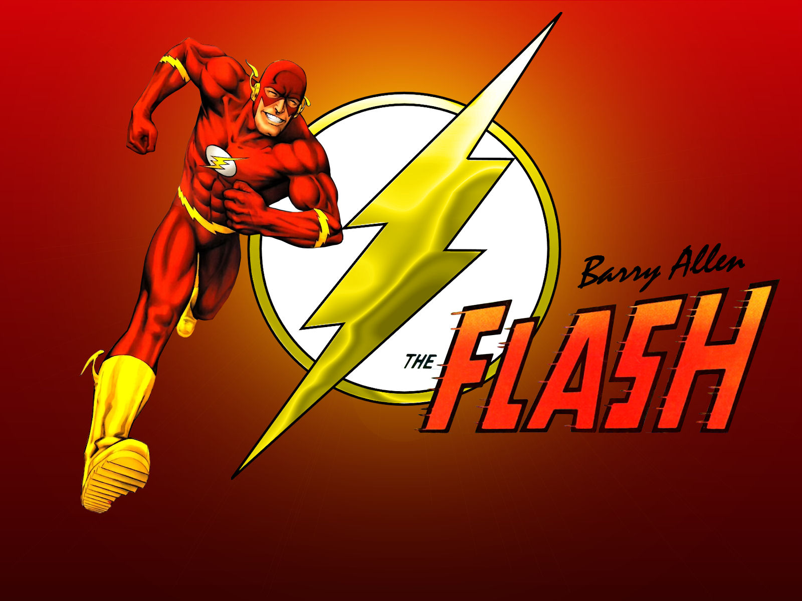 The Flash   Barry Allen by Superman8193 1600x1200