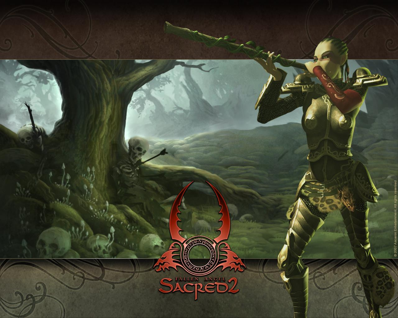 Sacred 2 Fallen Angel PC Wallpapers fonds dcran images 1280x1024
