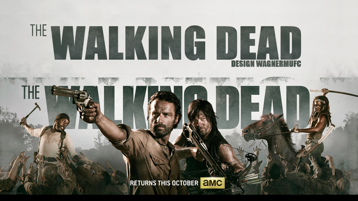 Free Download Wallpaper The Walking Dead 4 Season By Wagnermufc On