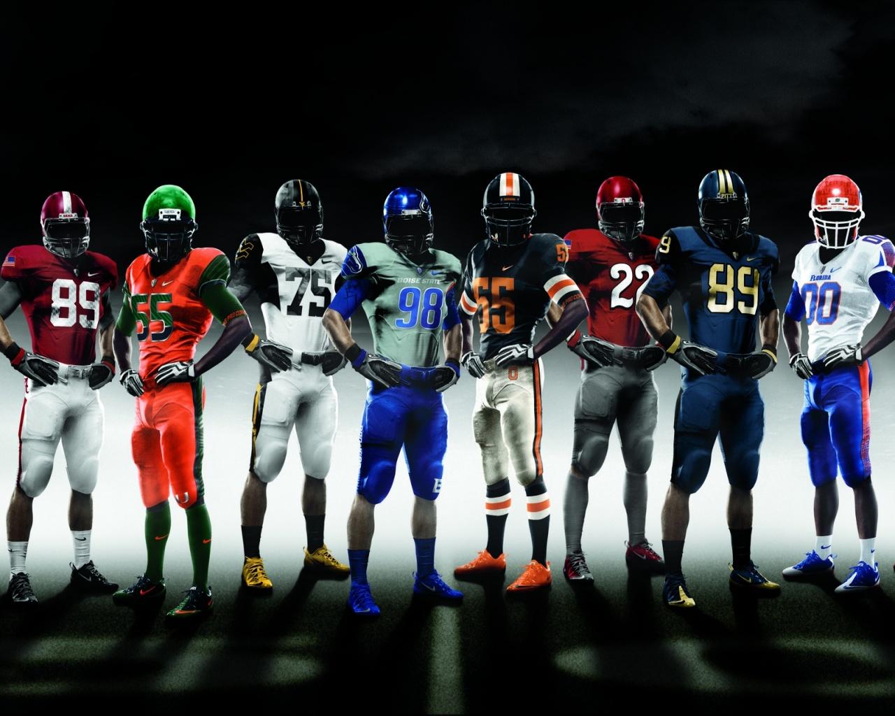 Nike American Football Team   1280x1024   363004 1280x1024
