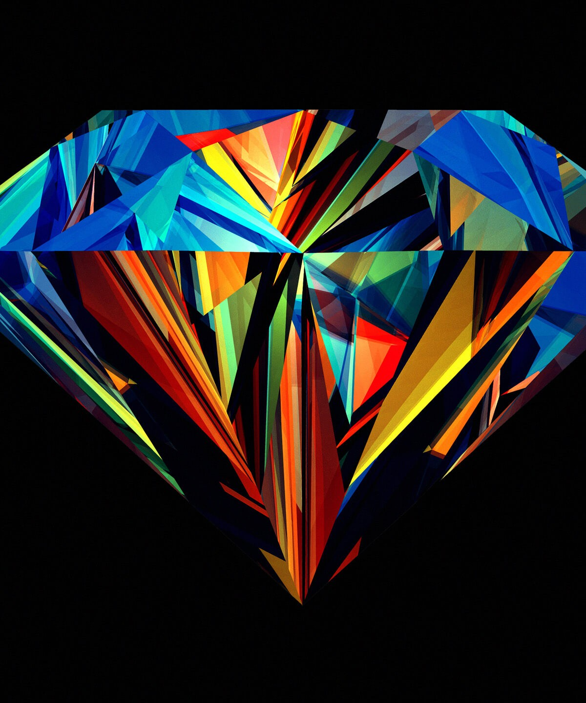 Colorful Diamond HD wallpaper for Kindle Fire HDX   HDwallpapersnet 1200x1440