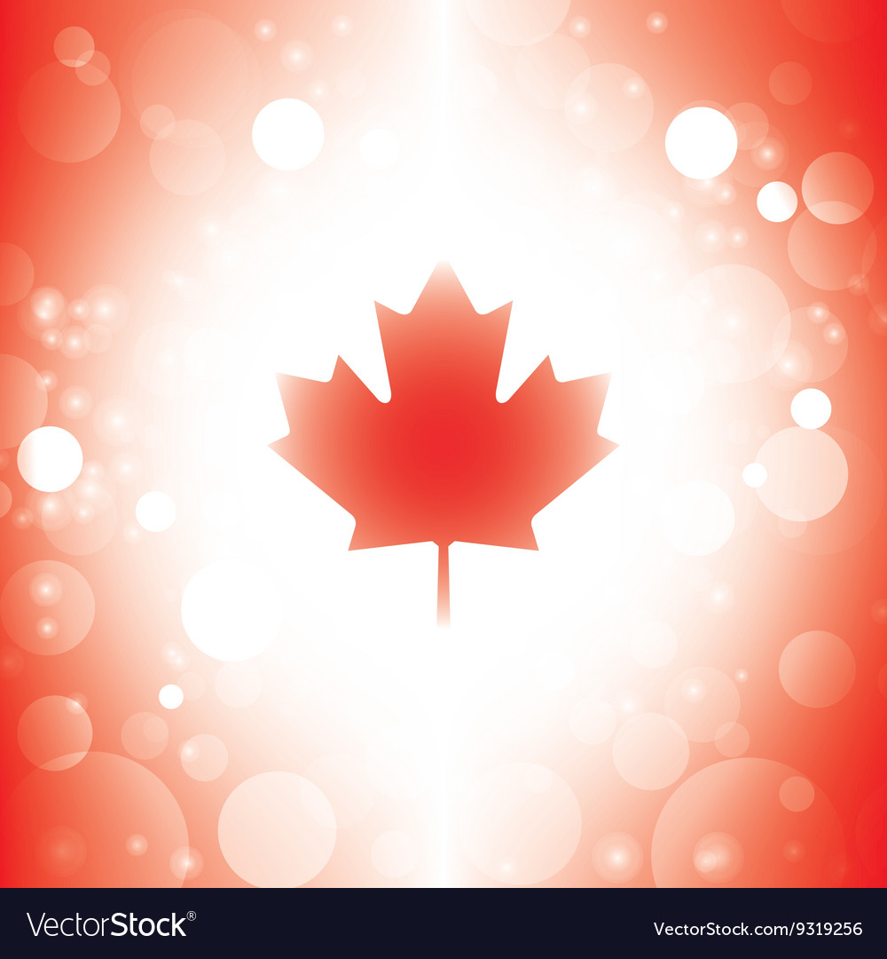 Canada background abstract canadian flag Vector Image 1000x1080
