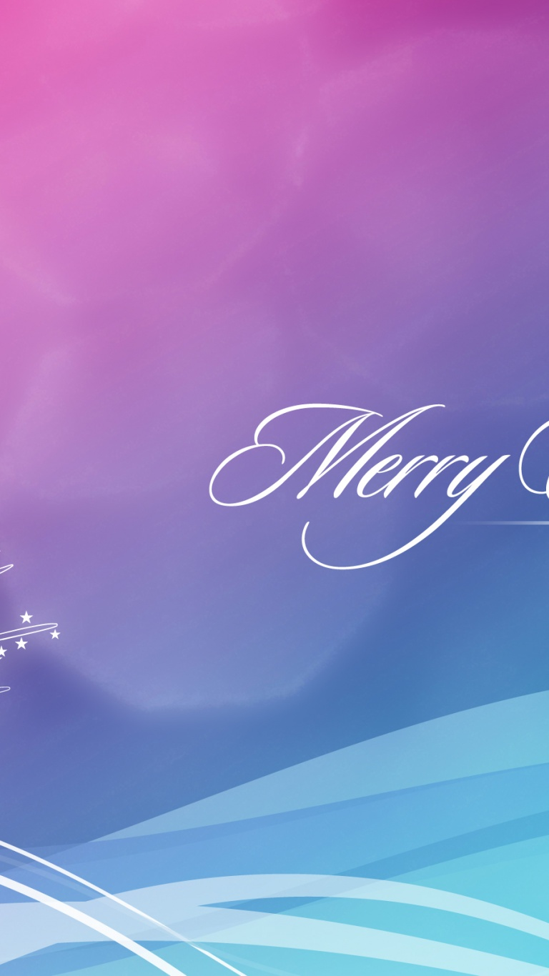 768x1366 Blue and Pink Christmas Wallpaper Surface rt wallpaper