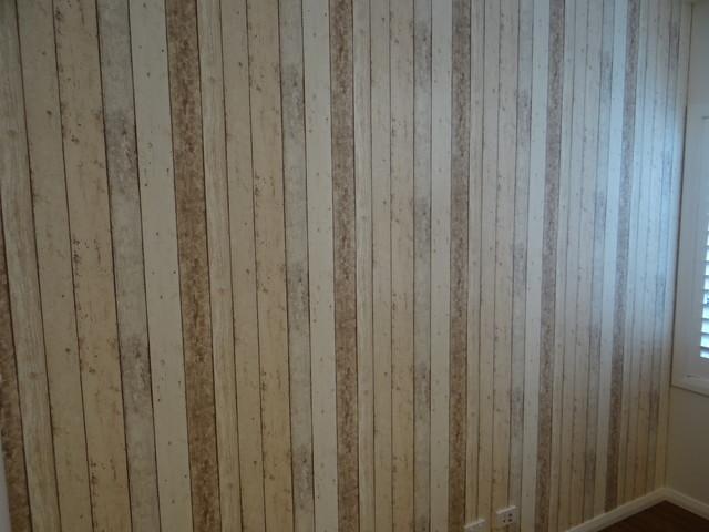 Wood Panel Wallpaper   Rustic   sydney   by Sydney Wallpapering 640x480