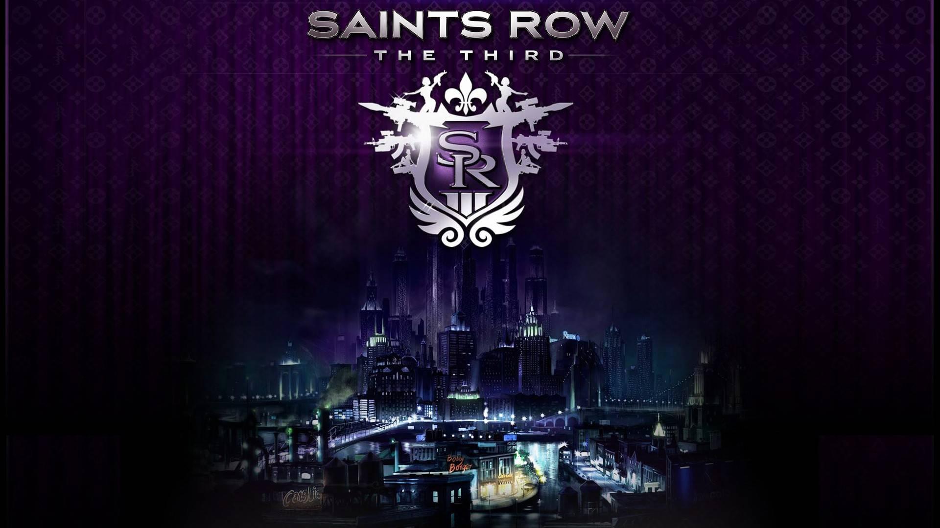 Saints Row 4 Logo HD Desktop Wallpaper HD Desktop Wallpaper 1920x1080