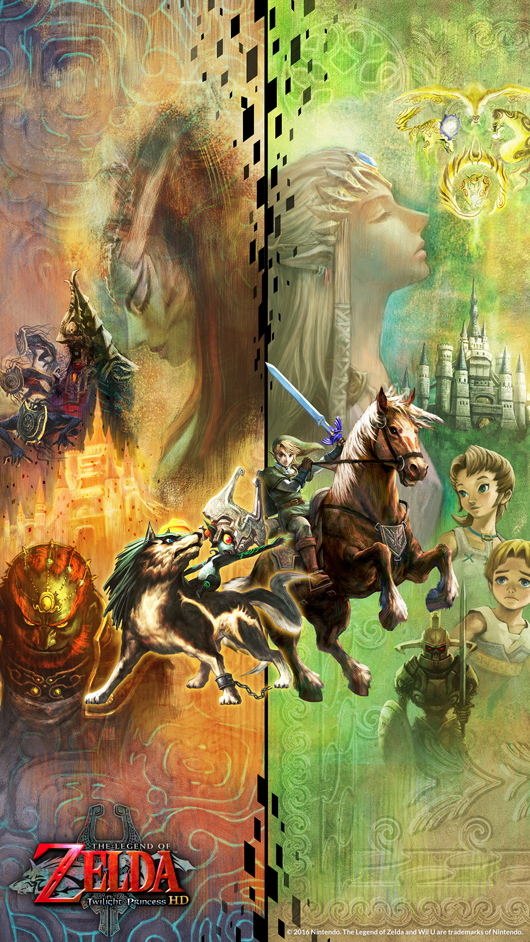 Media   The Legend of Zelda Twilight Princess HD for Wii 1080x1920
