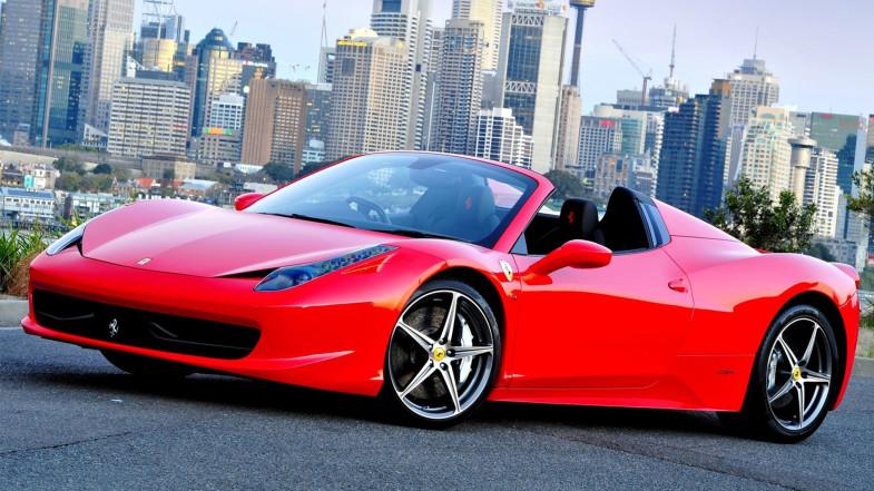 Ferrari 458 Italia Spyder Wallpaper Hd