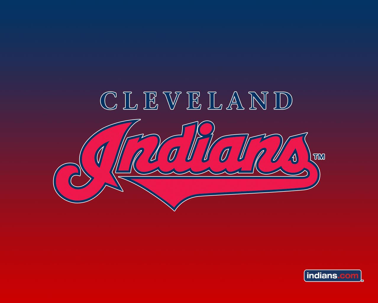 Cleveland Indians w/ Gradient Background | 1280 x 1024 | 1024 x 768