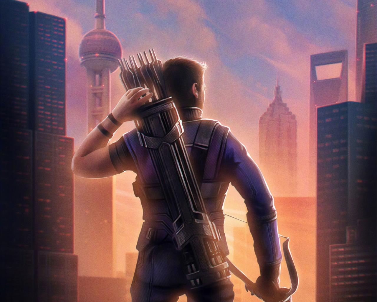 1280x1024 Hawkeye Avengers Endgame 1280x1024 Resolution Wallpaper 1280x1024