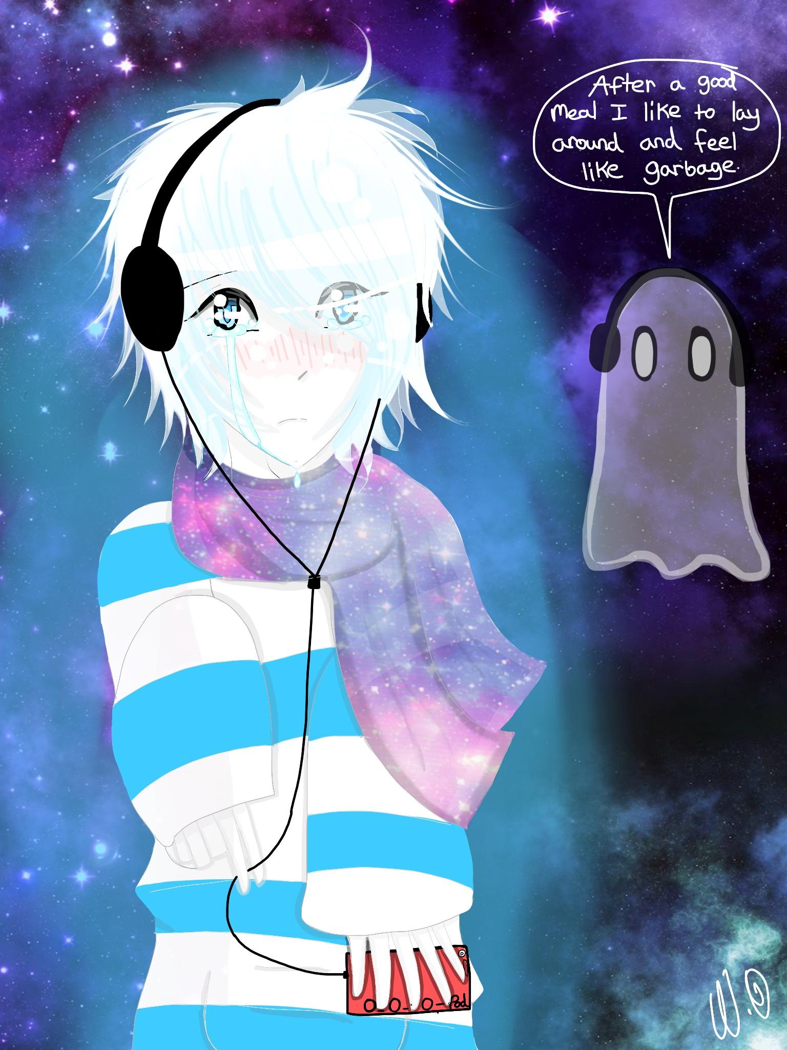 Undertale Napstablook by Neon Gloom 1536x2048