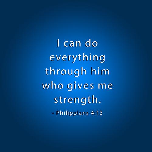 Philippians 413   iPad Christian Wallpaper Philippians 4 500x500