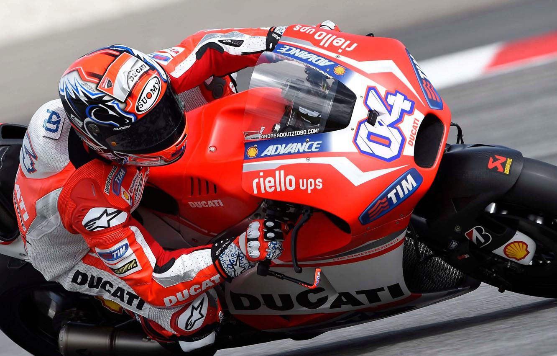 Wallpaper Turn Motorcycle Race Ducati MotoGP Moto Dovizioso 1332x850