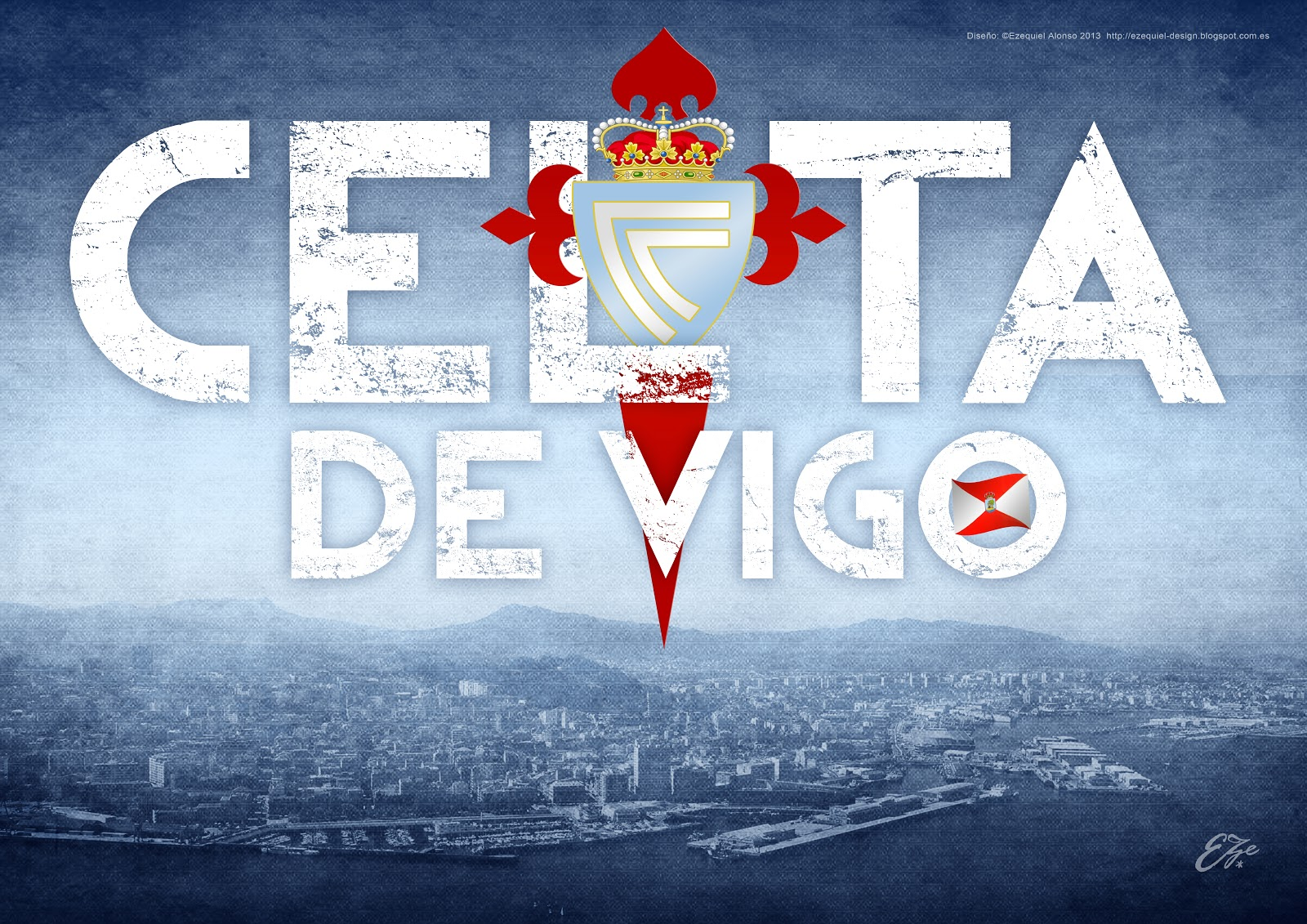 Wallpaper Celta de Vigo Eze 2013 Radio Sporting 1600x1131