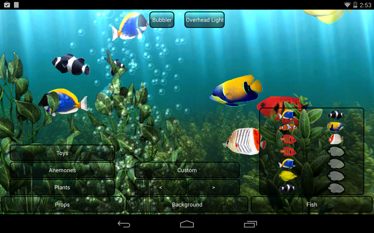 Aquarium Live Wallpaper   Android Apps on Google Play 1280x800