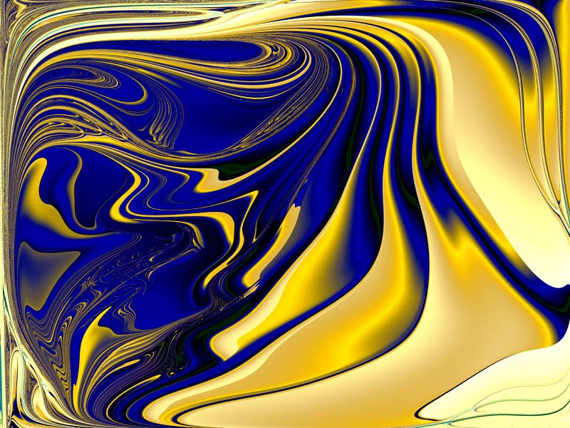 Swirl Blue And Gold Design Wallpaper Swirl Blue And Gold Design 800x600