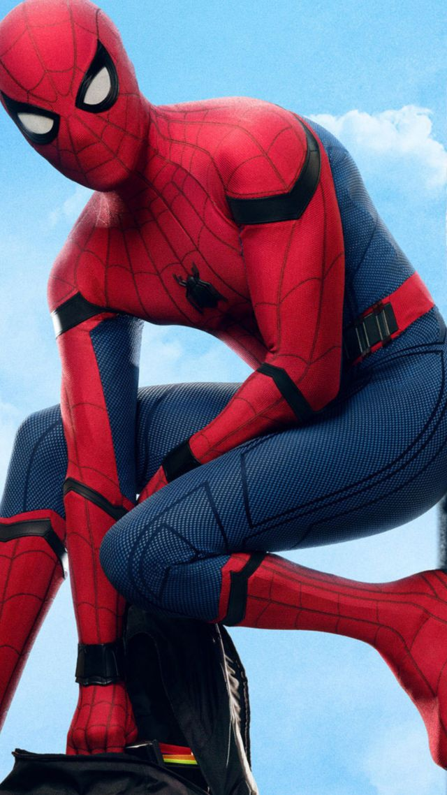 Wallpaper Spider Man Homecoming 4k Movies 14081 640x1138
