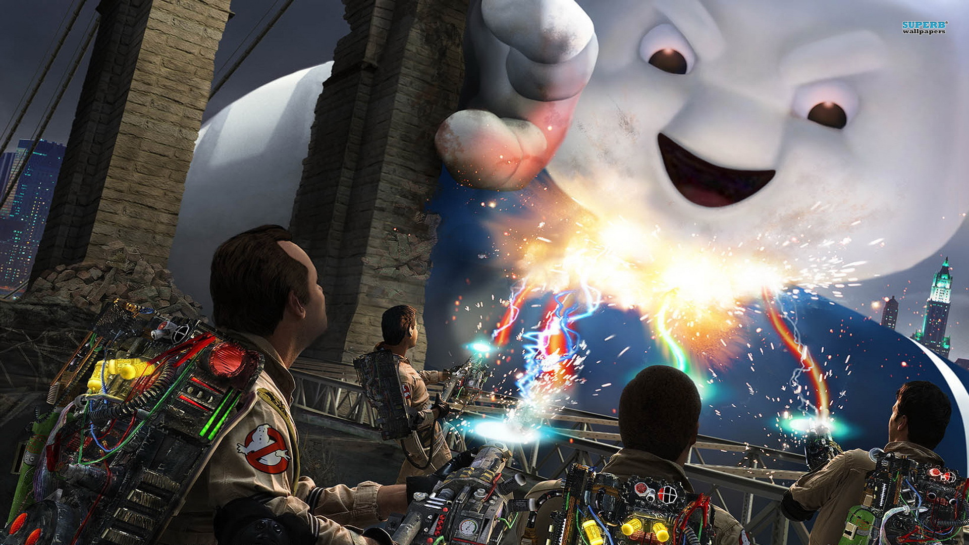 Cool Video Game Wallpapers Xghostbusters The Video Game 1920x1080