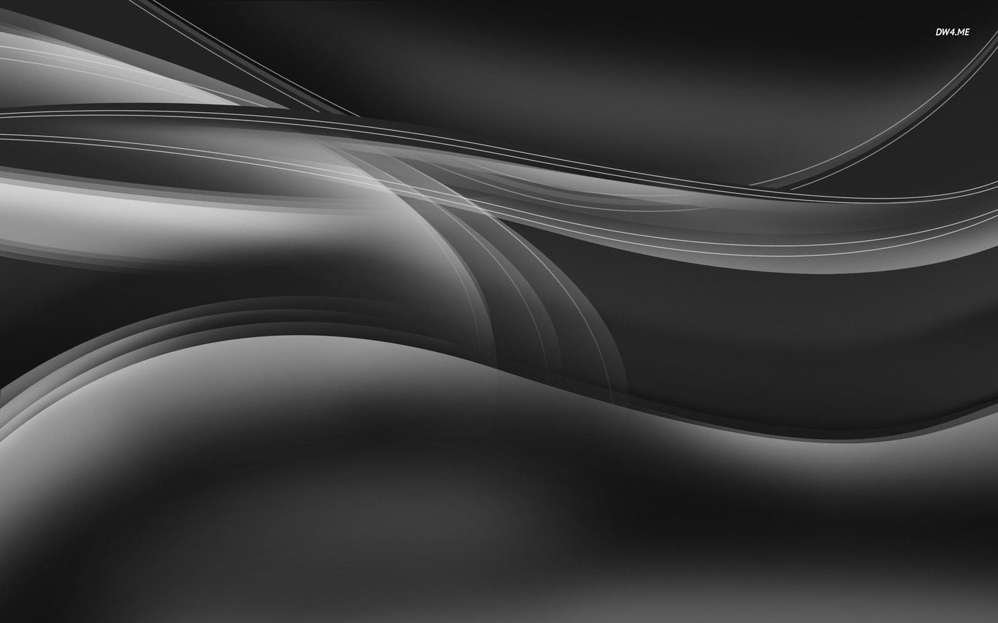 Silver curves wallpaper   Abstract wallpapers   1555 1440x900