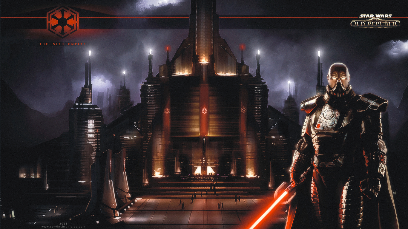 Download Star Wars The Old Republic Backgrounds 1366x768