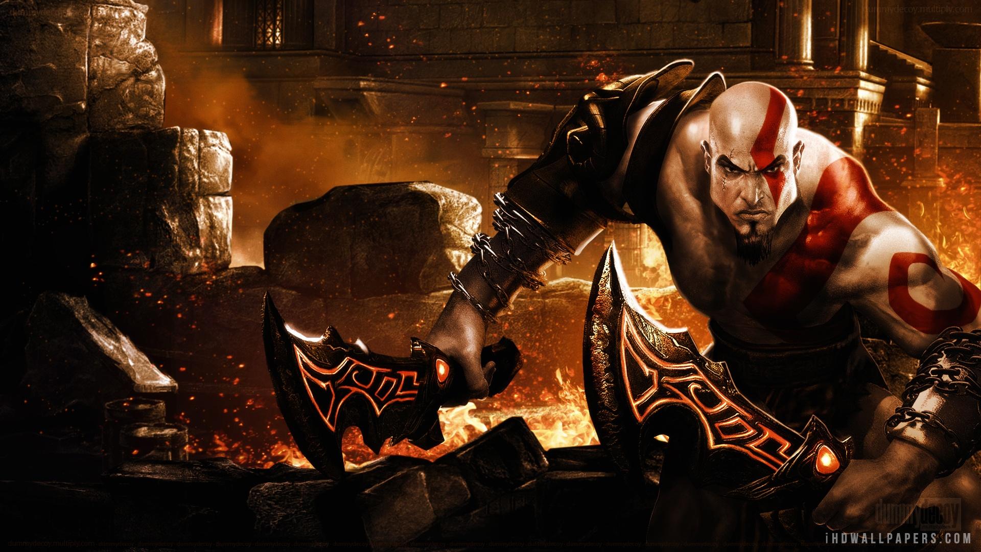 Free Download God Of War Kratos Hd Wallpaper Ihd Wallpapers