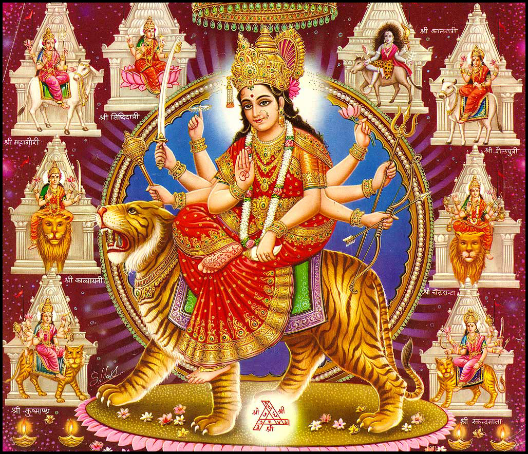 Free Download HD DURGA MAA AND AMBE MAA IMAGE High