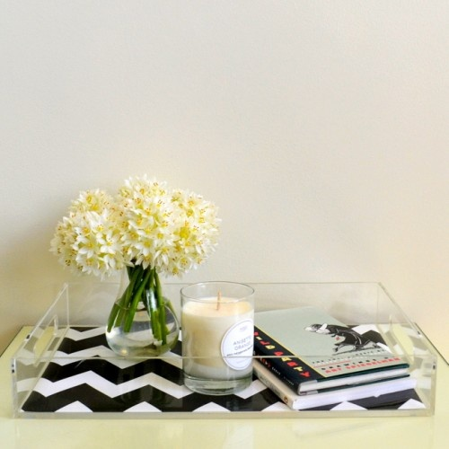 Acrylic tray   with wallpaper wallpaper Pinterest 500x500