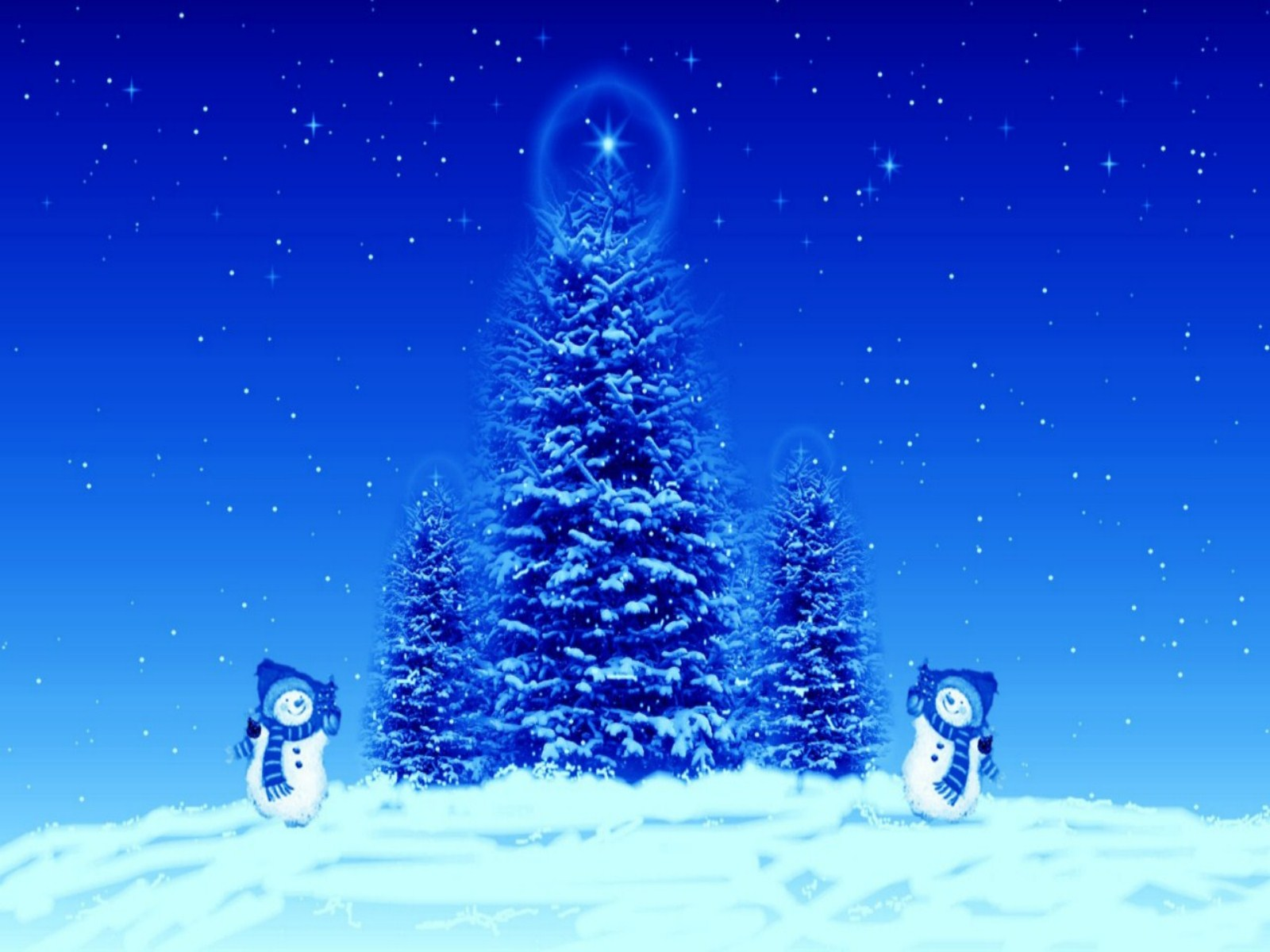 Microsoft Christmas Wallpaper
