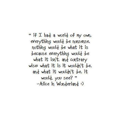Alice In Wonderland Quotes Tumblr: Alice In Wonderland Wallpaper Quotes