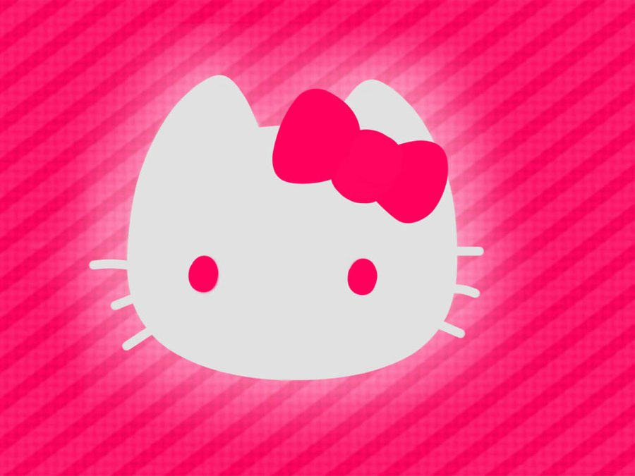 Hello Kitty wallpaper pink by VectorFrosting 900x675