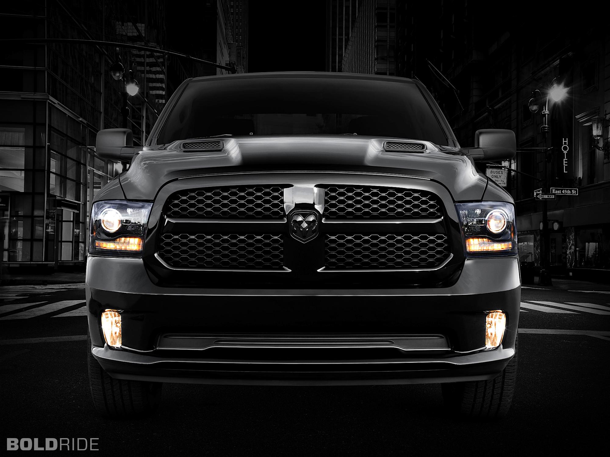 Dodge Ram 1500 Black Express pickup supertruck truck muscle wallpaper 2000x1500