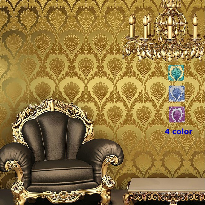 Classic Luxury Modern Victorian Damask Wallpaper RollTextured Wall 662x662