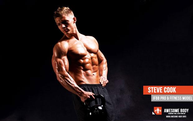 Steve Cook Wallpaper IFBB Pro Fitness Model HD Physique 620x388