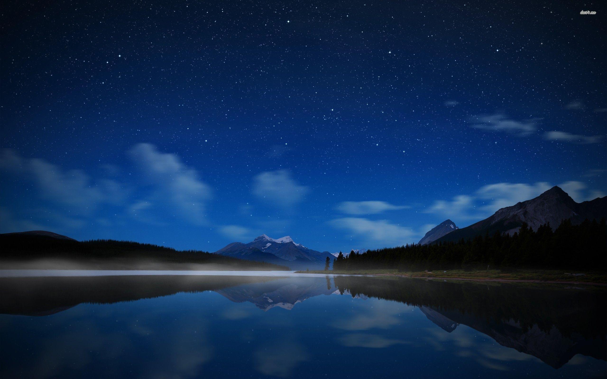 Night Sky Stars Wallpapers 2560x1600