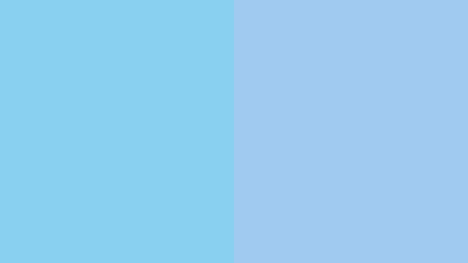 resolution Baby Blue and Baby Blue Eyes solid two color background 1600x900