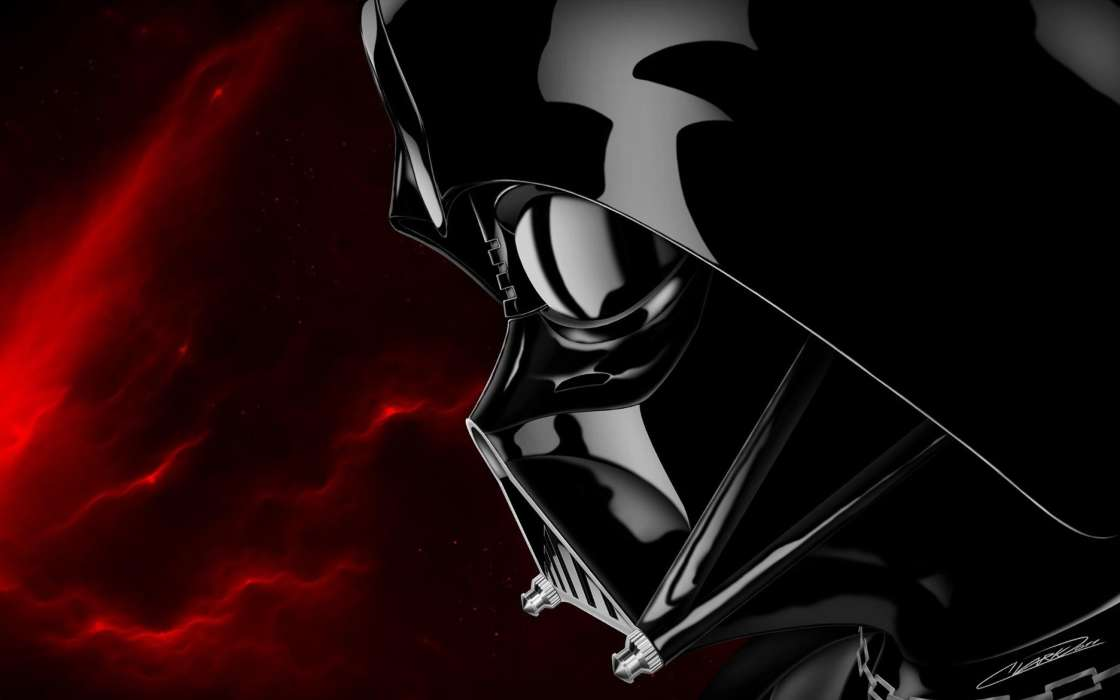 Download mobile wallpaper Cinema Star wars Dart Vader 16058 1120x700