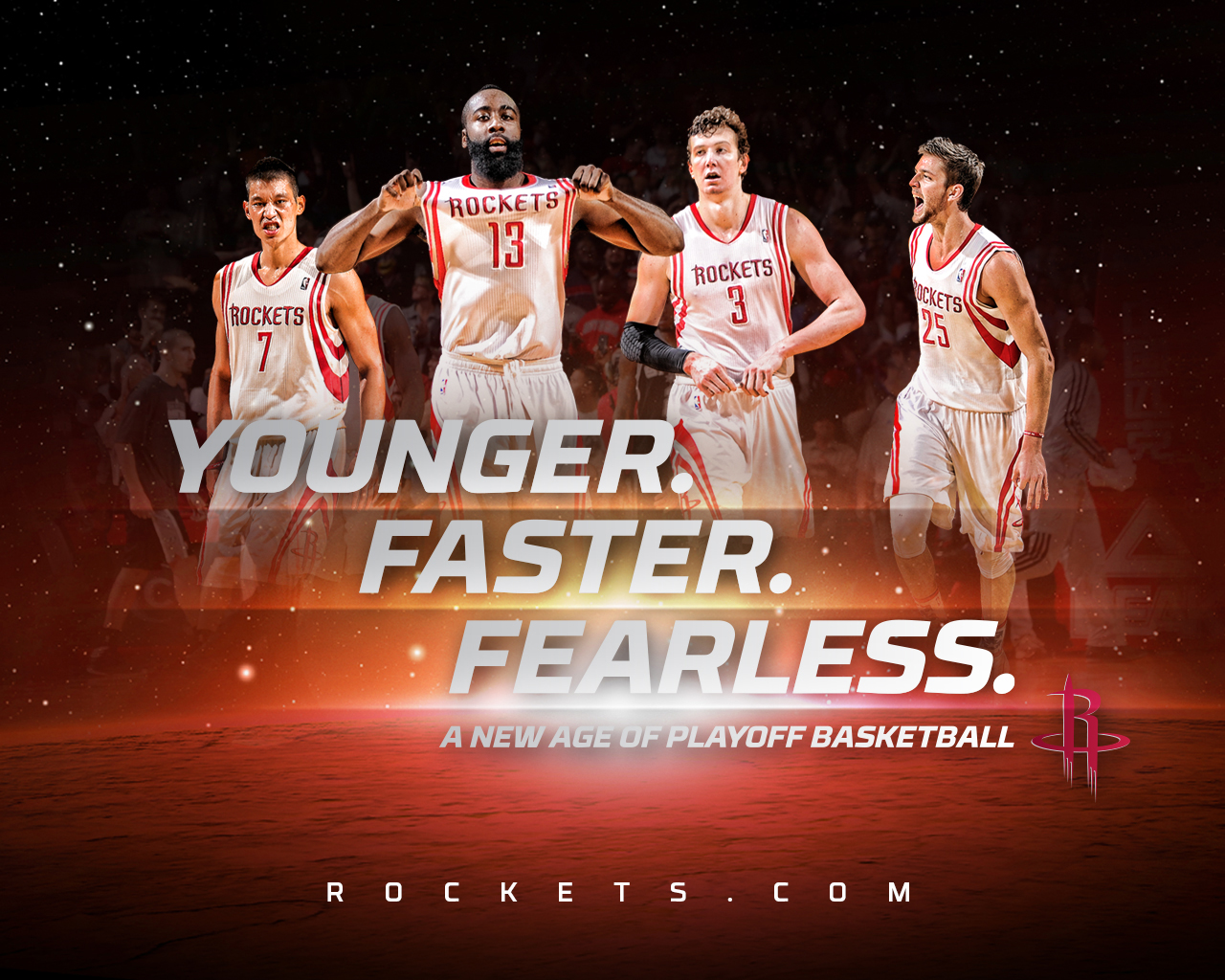 Rockets Wallpaper THE OFFICIAL SITE OF THE HOUSTON ROCKETS 1280x1024