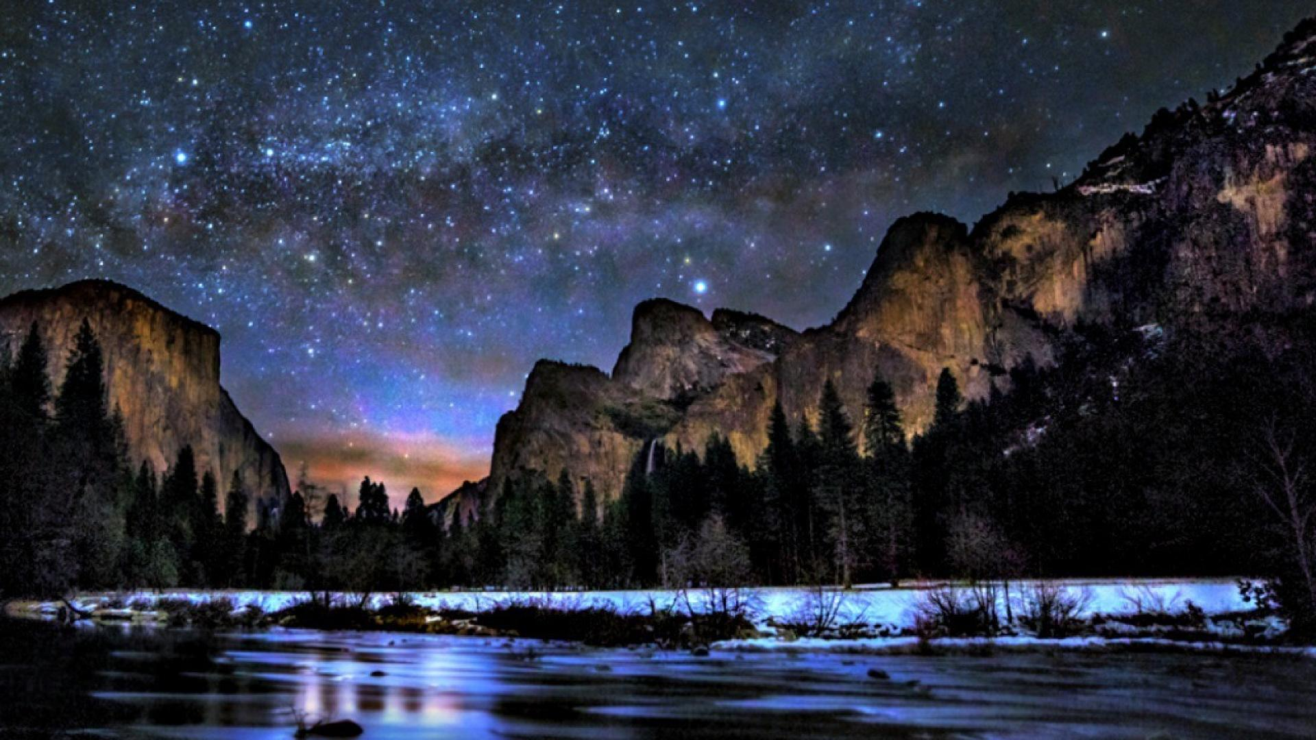 Way peaceful sky lovely yosemite national park wallpaper 65833 1920x1080