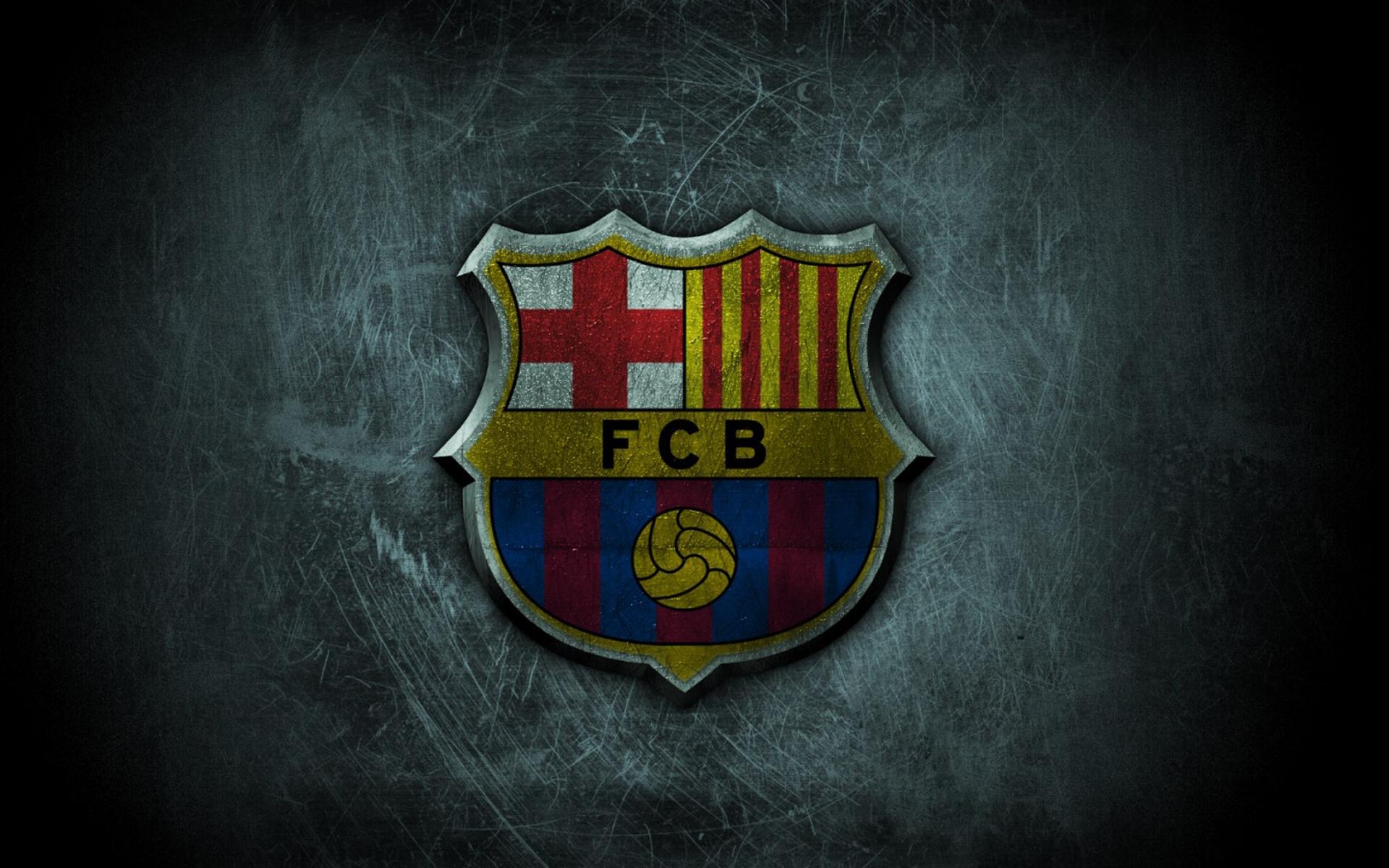 wallpaper hd escudo FC Barcelona en marmol Wallpaper Hd   Fondos 1920x1200
