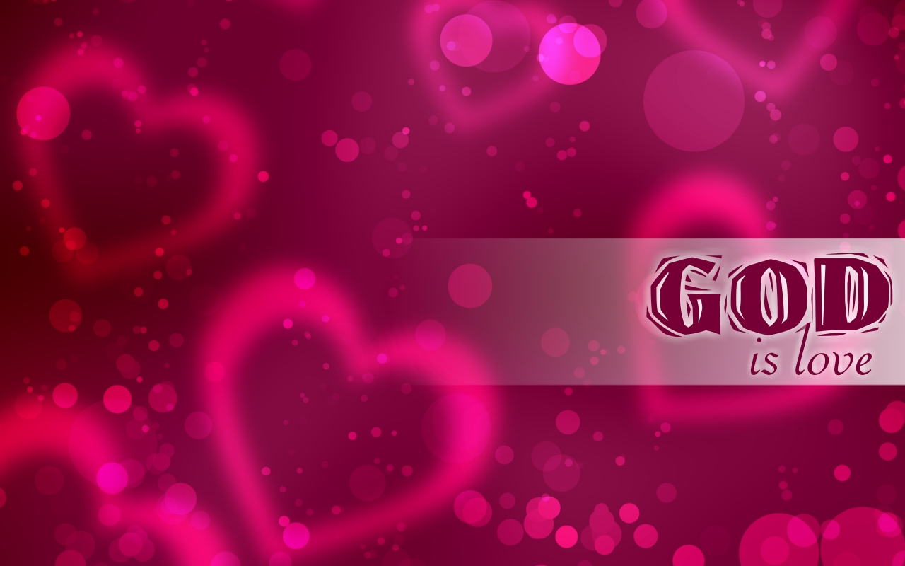 Wallpaper e Arte Crist Wallpaper Deus Amor God is Love 1280x800