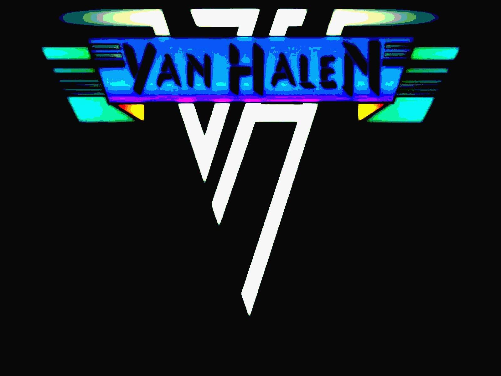 VAN HALEN hard rock heavy metal classic poster wallpaper background 1600x1200