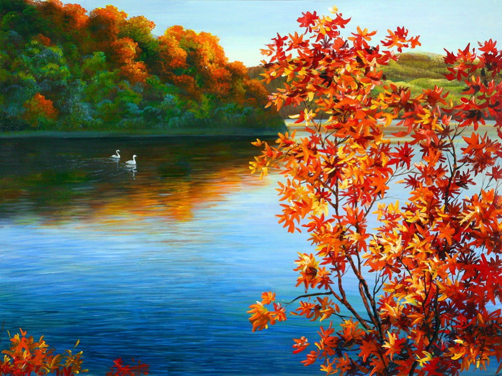 16024 autumn desktop wallpaper 1024x768