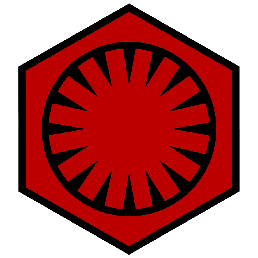 Emblem of the First Order Star Wars VII by RedRich1917 894x894