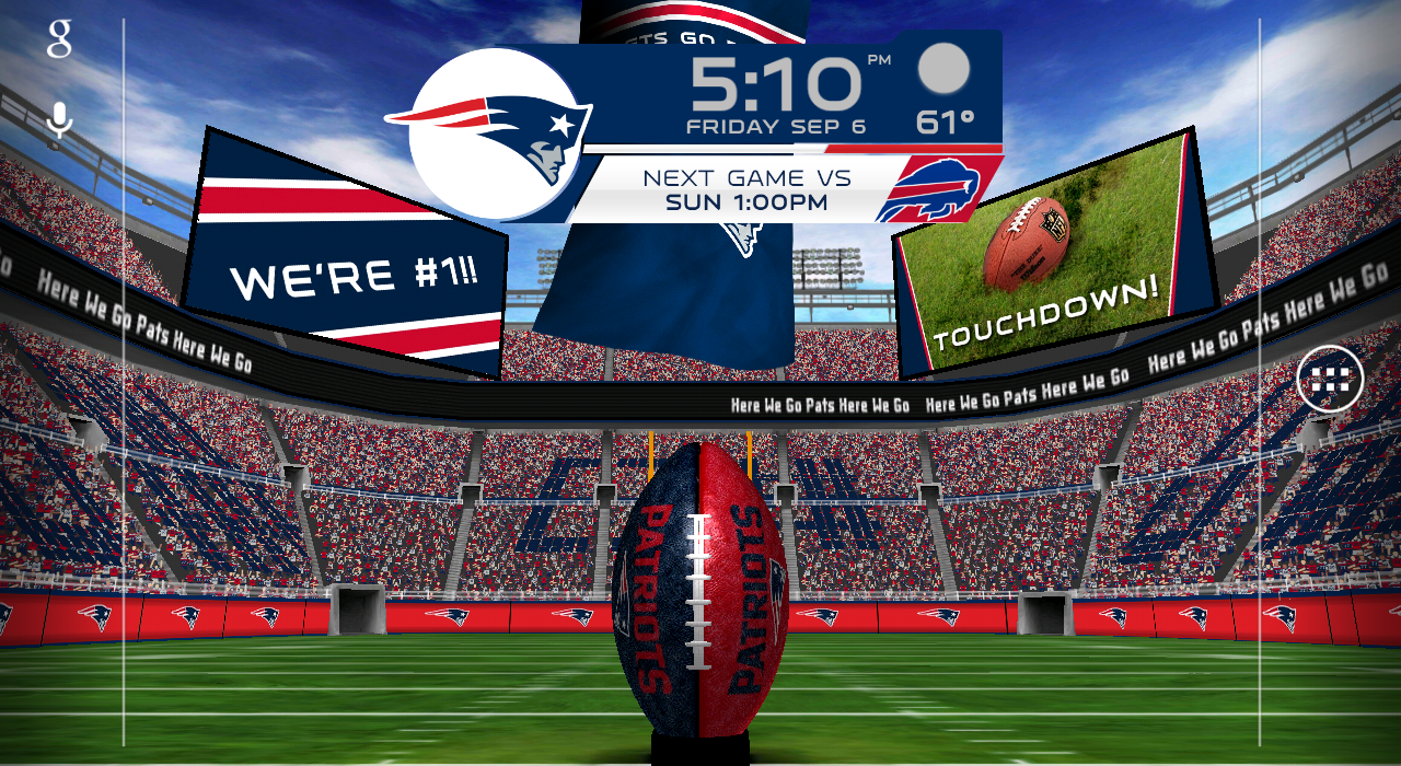 NFL 2014 Live Wallpaper download for Android FreeNew 1280x700
