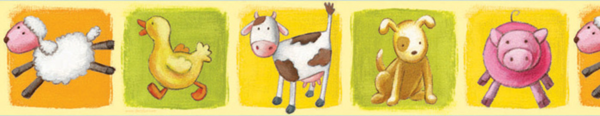 farm animal farm wallpaper border 4 95 3 95 quantity 1 2 3 4 5 6 7 1200x233